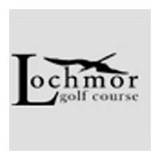 Logo of golf course named Lochmor Municipal Golf Course