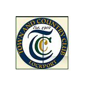 Logo of golf course named Lockport Town and Country Club