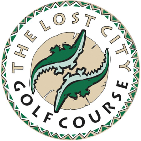 Logo of golf course named Lost City Golf Club