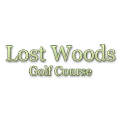 Logo of golf course named Lost Woods Golf Course