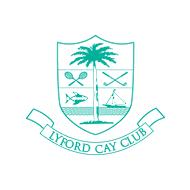 Logo of golf course named Lyford Cay Golf Club