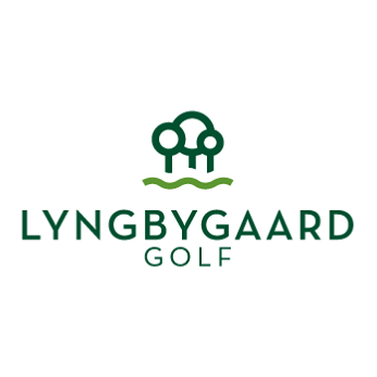 Logo of golf course named Lyngbygaard Golf Club