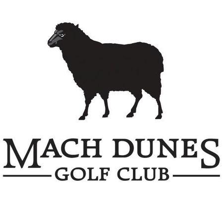 Logo of golf course named Machrihanish Dunes Golf Club