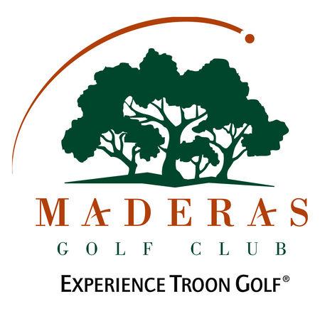 Logo of golf course named Maderas Golf Club