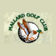 Logo of golf course named Mallard Golf Club