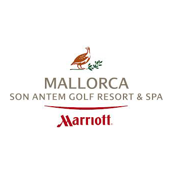 Logo of golf course named Mallorca Son Antem Golf Resort and Spa