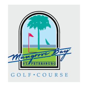 Logo of golf course named Mangrove Bay Golf Course