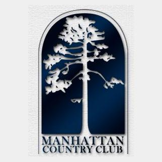 Logo of golf course named Manhattan Country Club