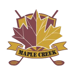 Logo of golf course named Maple Creek Golf and Country Club