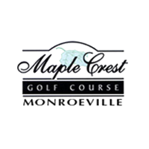Logo of golf course named Maple Crest Golf Course