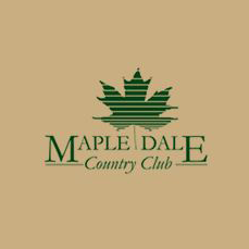 Logo of golf course named Maple Dale Country Club