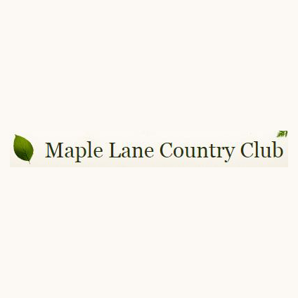 Logo of golf course named Maple Lane Country Club