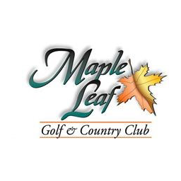 Logo of golf course named Maple Leaf Golf and Country Club