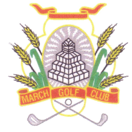 Logo of golf course named March Golf Club