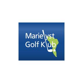 Logo of golf course named Marielyst Golf Club