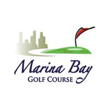 Logo of golf course named Marina Bay Golf Course