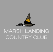 Logo of golf course named Marsh Landing Country Club