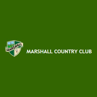 Logo of golf course named Marshall Country Club