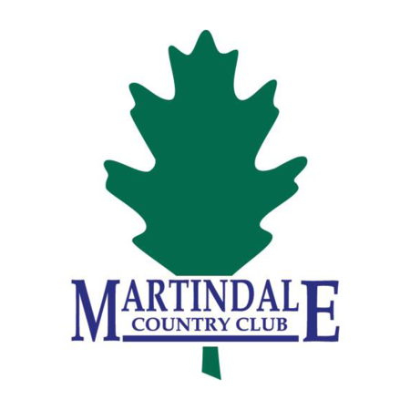 Logo of golf course named Martindale Country Club