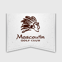 Logo of golf course named Mascoutin Golf Club
