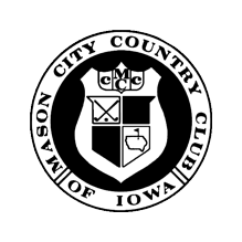 Logo of golf course named Mason City Country Club