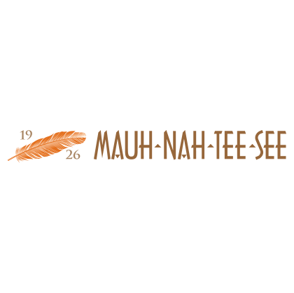Logo of golf course named Mauh-Nah-Tee-See Country Club