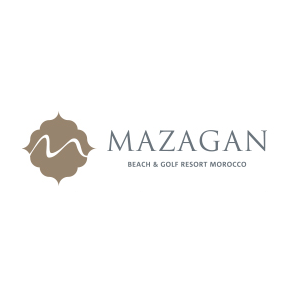 Logo of golf course named Mazagan Golf Club