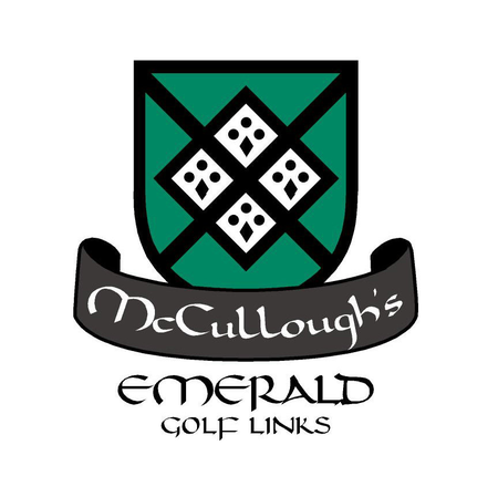 Logo of golf course named Mccullough's Emerald Golf Links
