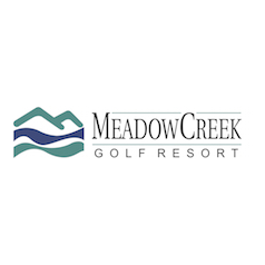 Logo of golf course named Meadow Creek Golf and Field Club