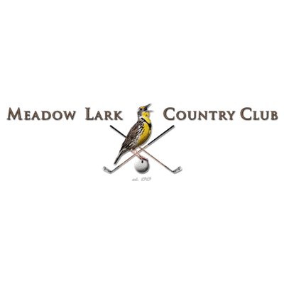 Logo of golf course named Meadow Lark Country Club