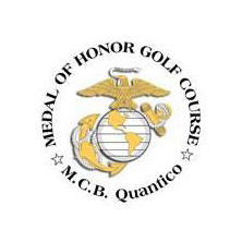 Logo of golf course named Medal of Honor Golf Course