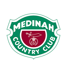 Logo of golf course named Medinah Country Club