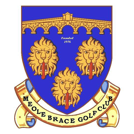 Logo of golf course named Meole Brace Golf Club