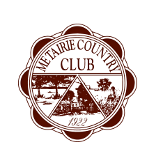 Logo of golf course named Metairie Country Club
