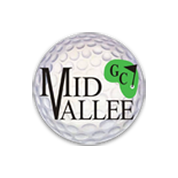 Logo of golf course named Mid Vallee Public Golf Course