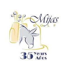 Logo of golf course named Mijas Golf Internacional