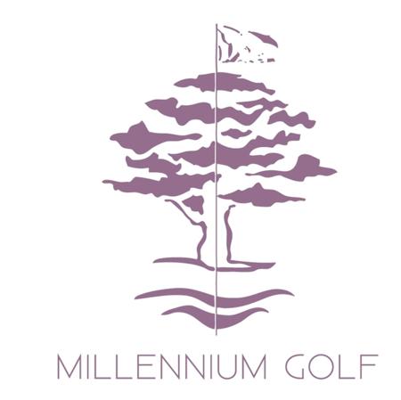 Logo of golf course named Millennium Golf Club