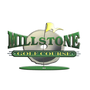Logo of golf course named Millstone Golf Course