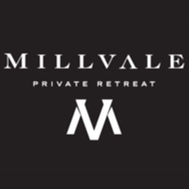 Logo of golf course named Millvale Golf Estate