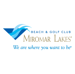 Logo of golf course named Miromar Lakes Golf Club