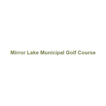 Logo of golf course named Mirror Lake Golf Course