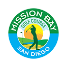 Logo of golf course named Mission Bay Golf Course