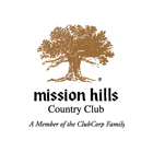 Logo of golf course named Mission Hills CC