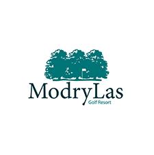 Logo of golf course named Modry Las Golf Club