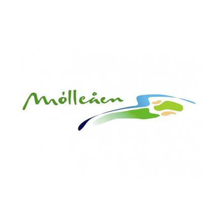 Logo of golf course named Moelleaaens Golf Club