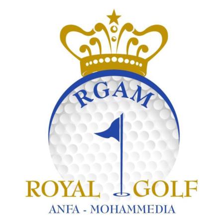 Logo of golf course named Mohammedia Royal Golf Club