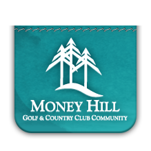 Logo of golf course named Money Hill Golf and Country Club