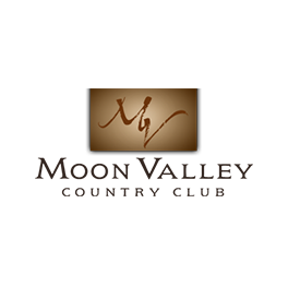 Logo of golf course named Moon Valley Country Club