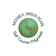 Logo of golf course named Moorea Green Pearl Golf Course