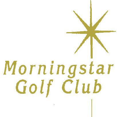 Logo of golf course named Morningstar Golf Club